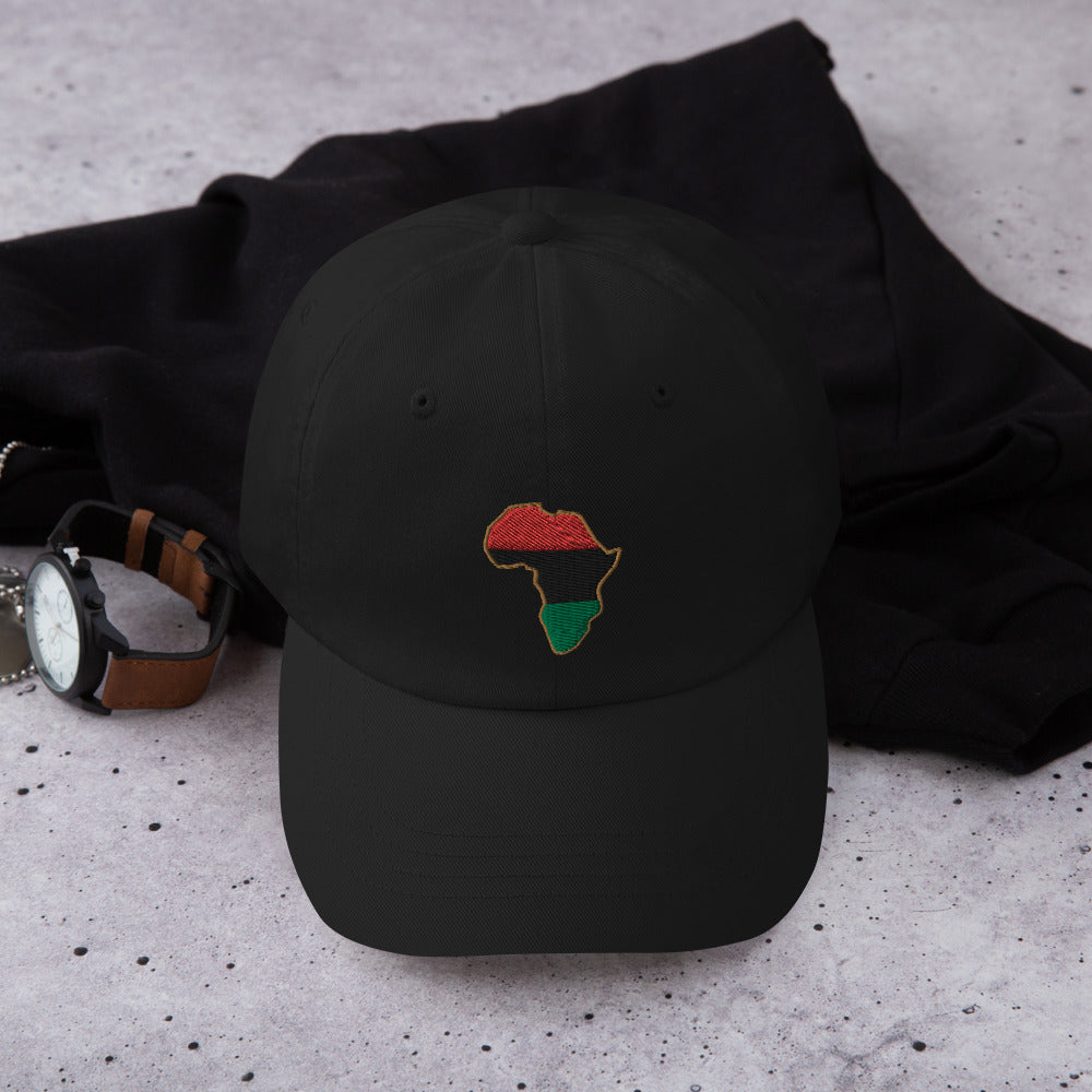 Pan African Embroidered Baseball Hat - HipHatter