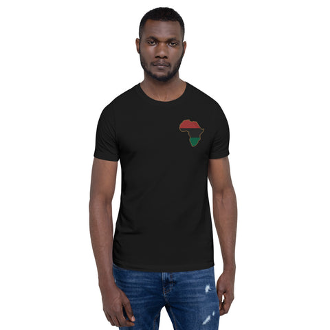 Pan African Short-Sleeve Unisex T-Shirt - HipHatter