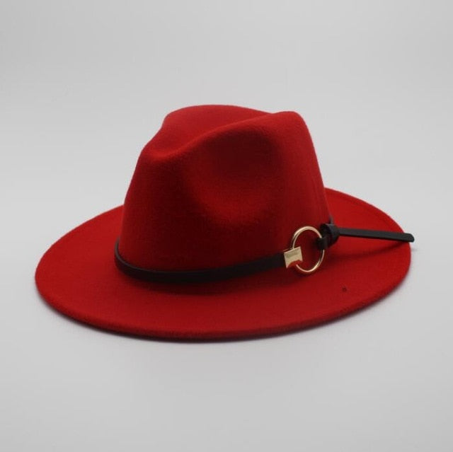 The Lucky Derby Wide Brim Fedora Hat - HipHatter