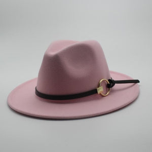 Pink-The-Lucky-Derby-Wide-Brim-Fedora-Hat-HipHatter