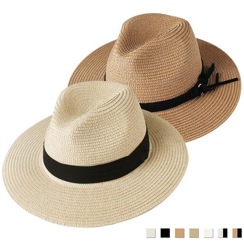 The Calypso Panama Straw Hat - HipHatter