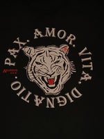 Tiger Motto T-Shirt - Designed By Araneus A.D.W. - HipHatter