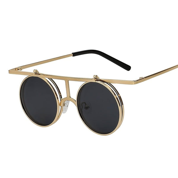 Rictus Sunglasses--Men's Sunglasses-Steampunk Sunglasses-Lensuit