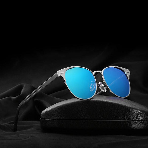 ONYXX - Silver blue - Men's & Women's Sunglasses - Wayfarers - Crissado