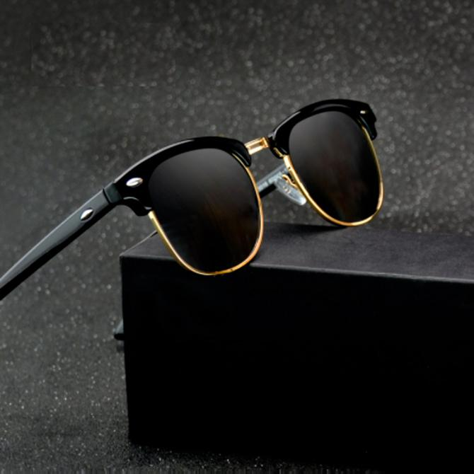 BUMBLEBEE-Matte Black-Men's & Women's Sunglasses-Wayfarers-Lensuit
