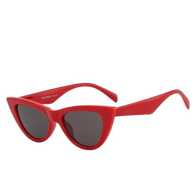 Sinpad - Red w black - Women's Sunglasses - Cat Eye Sunglasses - Crissado