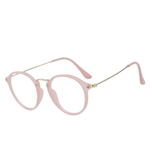 Scarl - Nude pink w clear - Women's Sunglasses - Cat Eye Sunglasses - Crissado