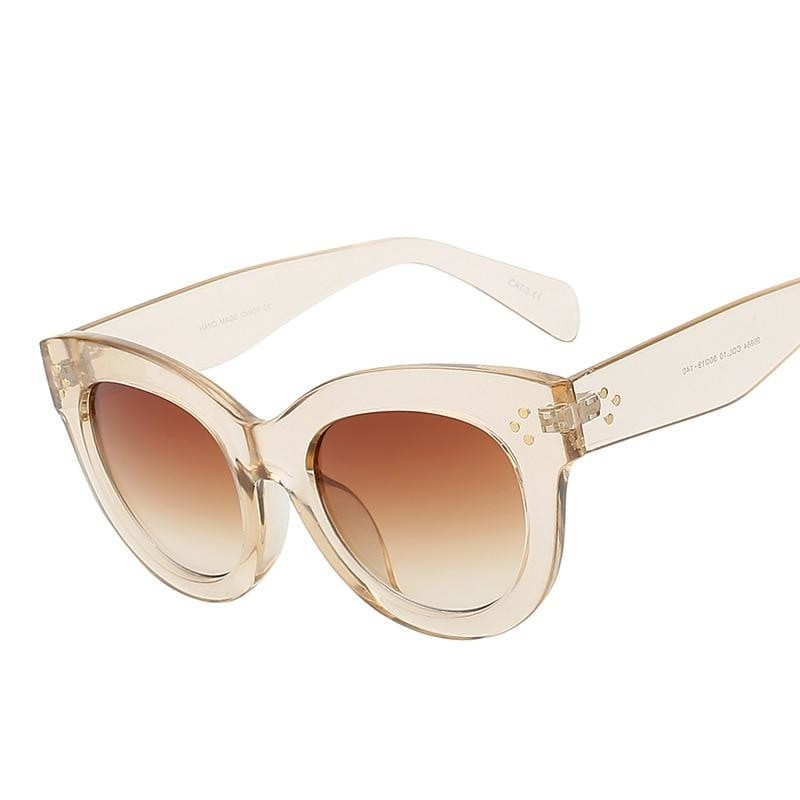 BoBoPo--Women's Sunglasses-Cat Eye Sunglasses-Lensuit