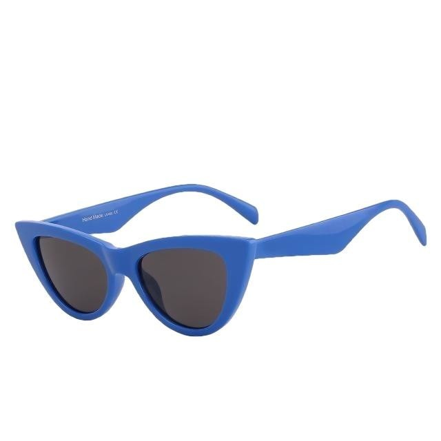 Sinpad - Blue w black - Women's Sunglasses - Cat Eye Sunglasses - Crissado