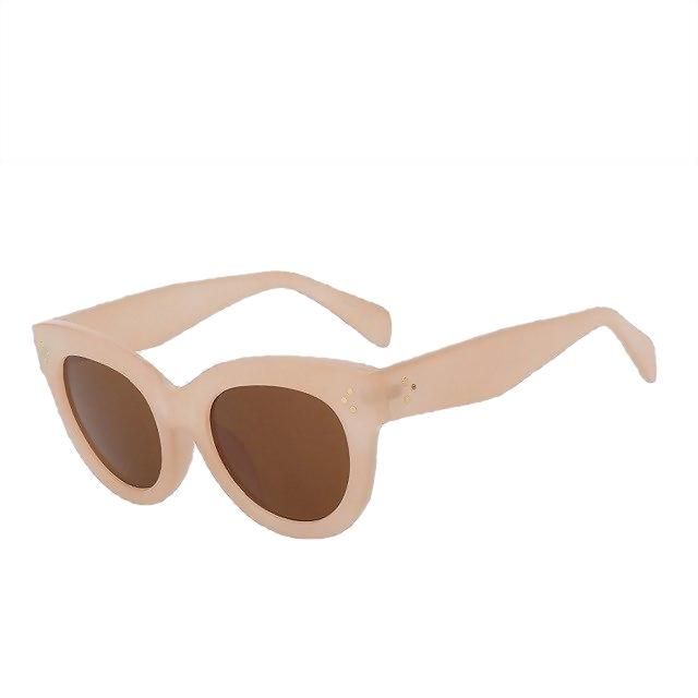 BoBoPo - C4 Nude - Women's Sunglasses - Cat Eye Sunglasses - Crissado