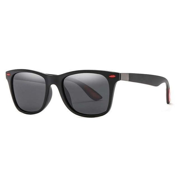 ASTROTRAIN - Black Gray - Unisex Sunglasses -  - Crissado