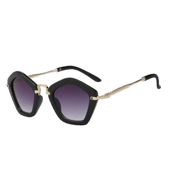 Scoorno - Black w smoke - Women's Sunglasses - Vintage Sunglasses - Crissado