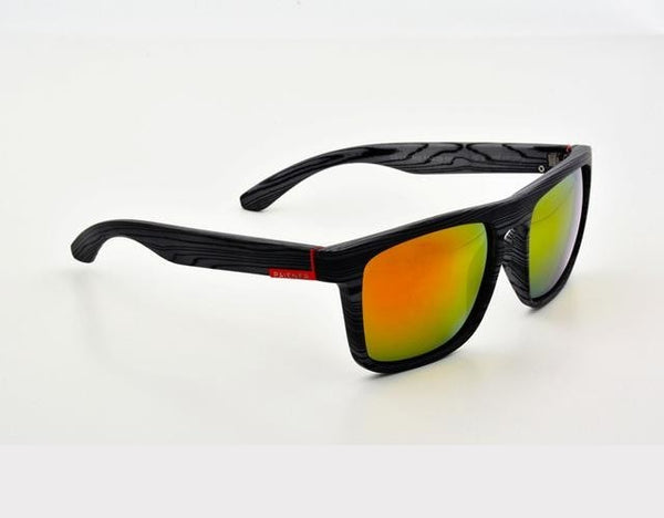 Gutgash - Gray & Red - Men's Sunglasses - Wayfarers - Crissado