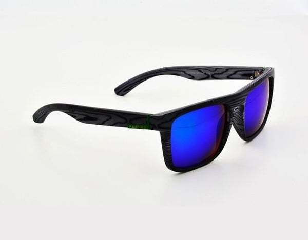 Gutgash - Gray & Blue - Men's Sunglasses - Wayfarers - Crissado