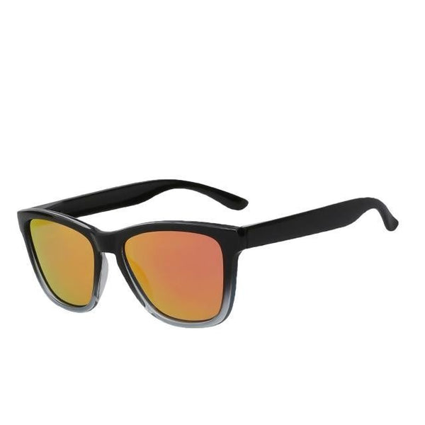 Dutjer - Red mirror lens - Men's Sunglasses - Wayfarers - Crissado