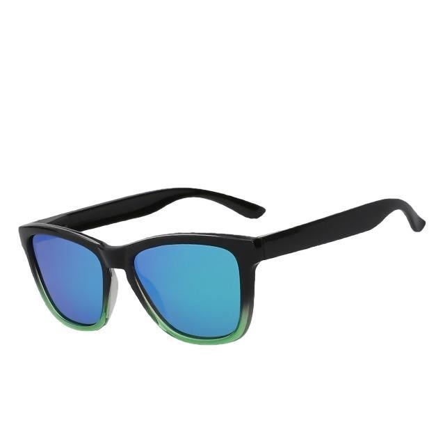 Dutjer - Green mirror lens - Men's Sunglasses - Wayfarers - Crissado