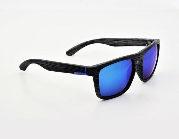 Gutgash - Gray & Blue - 2 - Men's Sunglasses - Wayfarers - Crissado