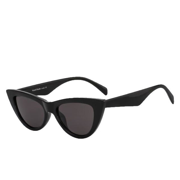 Sinpad - Black w black - Women's Sunglasses - Cat Eye Sunglasses - Crissado