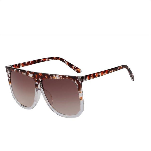 Skaxis - Red floral w brown - Men's & Women's Sunglasses -  - Crissado