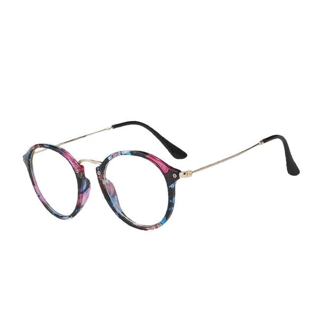 Scarl - Floral frame - Women's Sunglasses - Cat Eye Sunglasses - Crissado