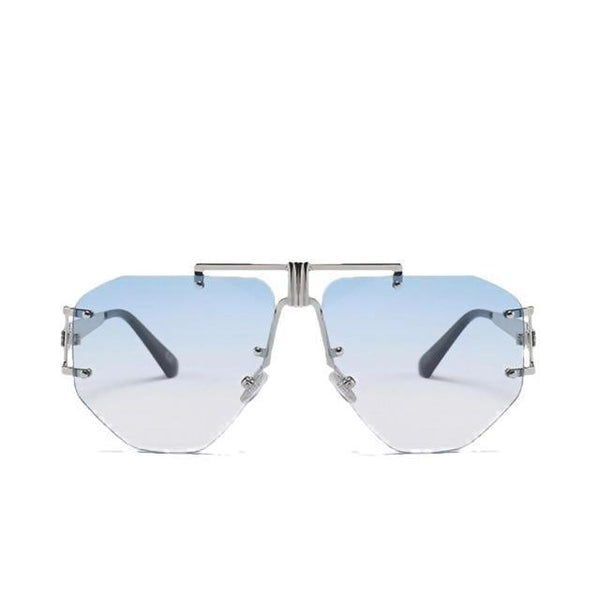Cyclonus - blue blue - Men's & Women's Sunglasses - Aviators - Crissado