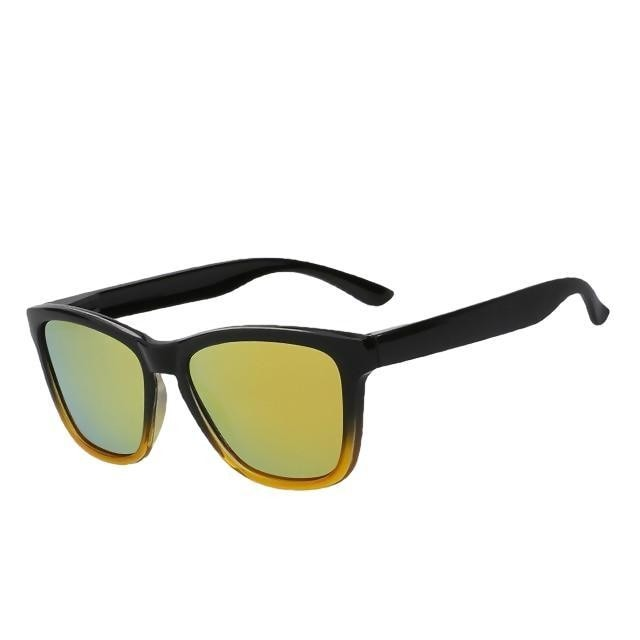 Dutjer - Gold mirror lens - Men's Sunglasses - Wayfarers - Crissado