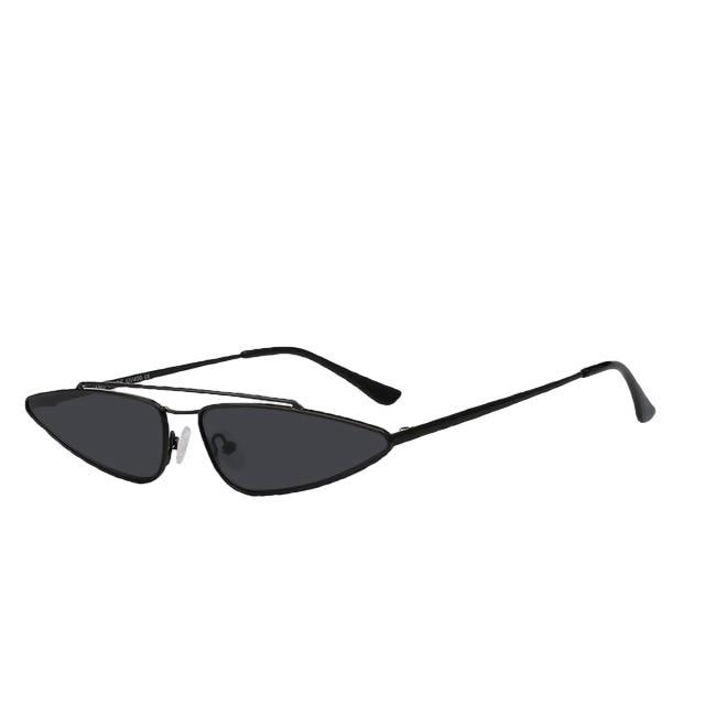 Arrowgance-Full black-Women's Sunglasses-Cat Eye Sunglasses-Lensuit