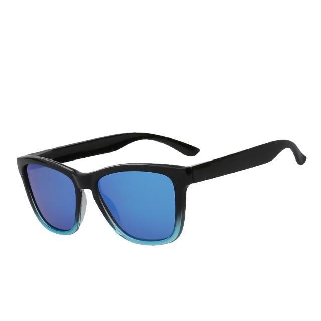 Dutjer - Blue mirror lens - Men's Sunglasses - Wayfarers - Crissado
