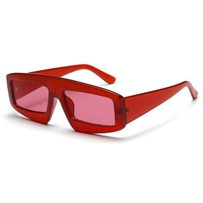 Amelie - Red / picture color - Women's Sunglasses -  - Crissado