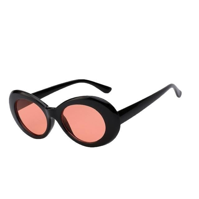 Yodacloud - Black w sea red - Women's Sunglasses - Round Sunglasses - Crissado
