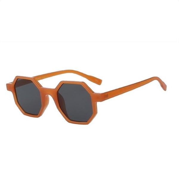 Modax - Nude orange w black - Women's Sunglasses - Vintage Sunglasses - Crissado