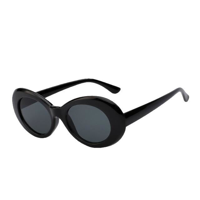 Yodacloud - Black w black - Women's Sunglasses - Round Sunglasses - Crissado