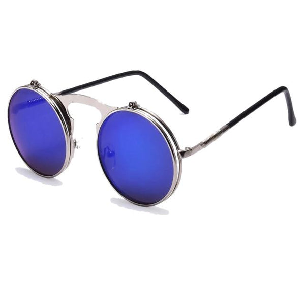 Hexteria - AO1blue - Men's & Women's Sunglasses - Flip Up Sunglasses - Crissado