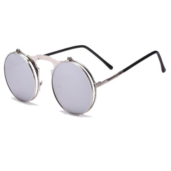 Hexteria - AO2silver - Men's & Women's Sunglasses - Flip Up Sunglasses - Crissado