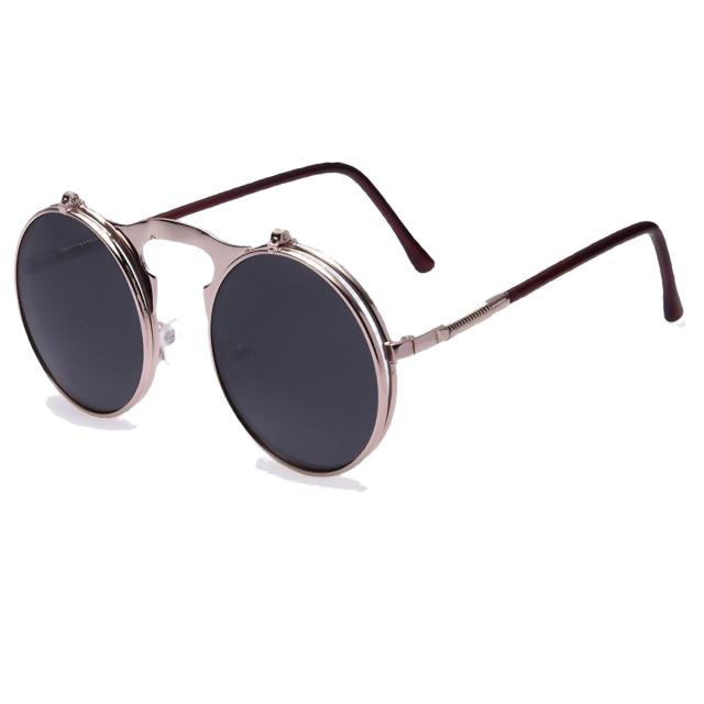 Hexteria Sunglasses-AO4black-Men's & Women's Sunglasses-Flip Up Sunglasses-Lensuit