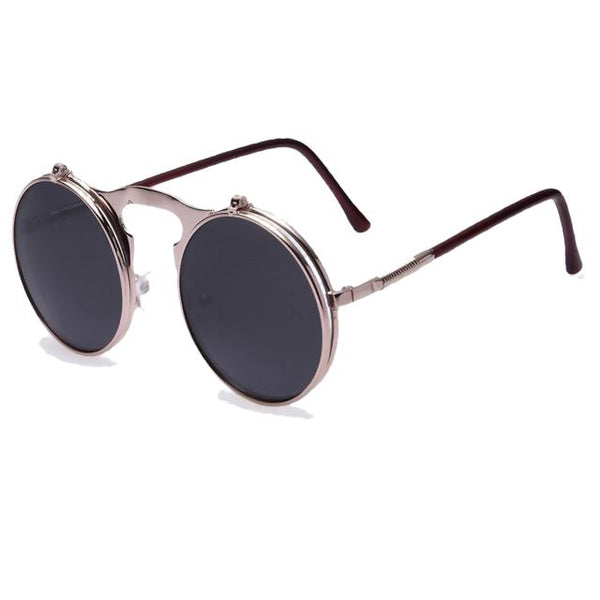 Hexteria - AO4black - Men's & Women's Sunglasses - Flip Up Sunglasses - Crissado