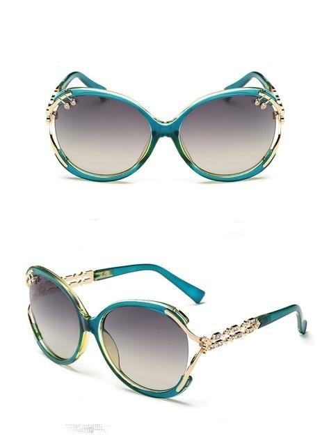 Wazzasoft - color 7 - Women's Sunglasses - Vintage Sunglasses - Crissado
