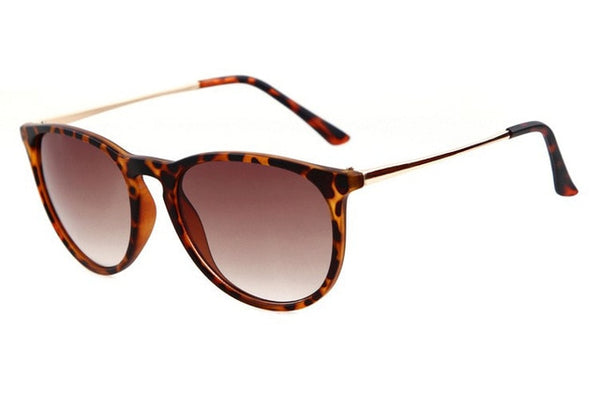 Hara - C5 Matte Leopard - Men's & Women's Sunglasses - Cat Eye Sunglasses - Crissado