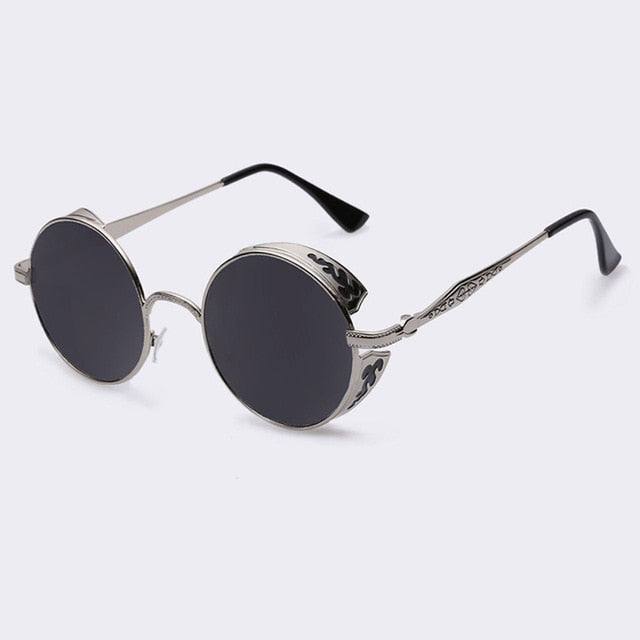 JEDEDIAH - C02gray - Men's & Women's Sunglasses - Steampunk Sunglasses - Crissado