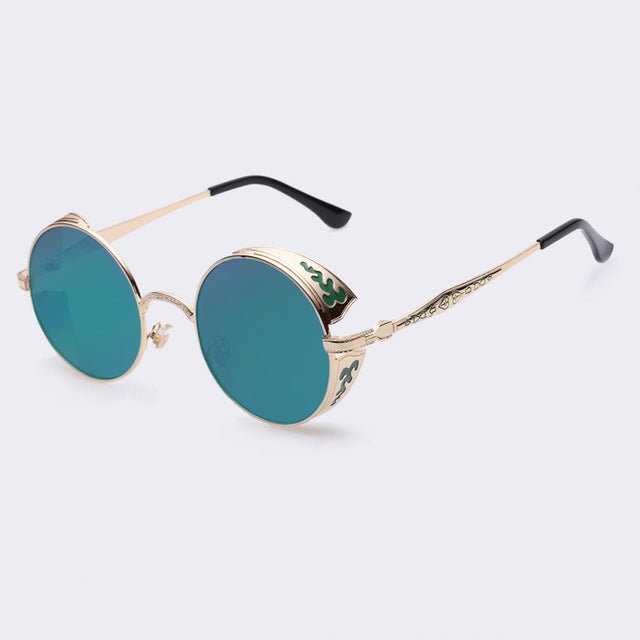 JEDEDIAH - C04green - Men's & Women's Sunglasses - Steampunk Sunglasses - Crissado