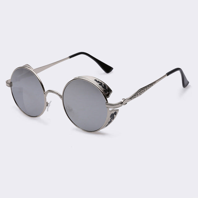 JEDEDIAH - C07silver - Men's & Women's Sunglasses - Steampunk Sunglasses - Crissado