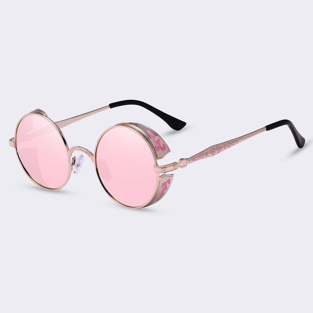 JEDEDIAH - C08pink - Men's & Women's Sunglasses - Steampunk Sunglasses - Crissado
