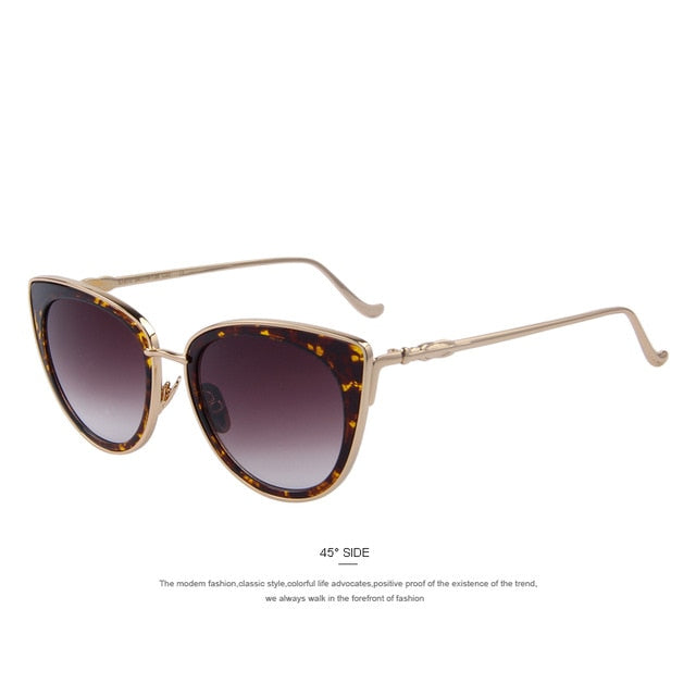 Ann-C04 Leopard-Women's Sunglasses-Cat Eye Sunglasses-Lensuit