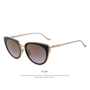 Ann-C06 Brown-Women's Sunglasses-Cat Eye Sunglasses-Lensuit