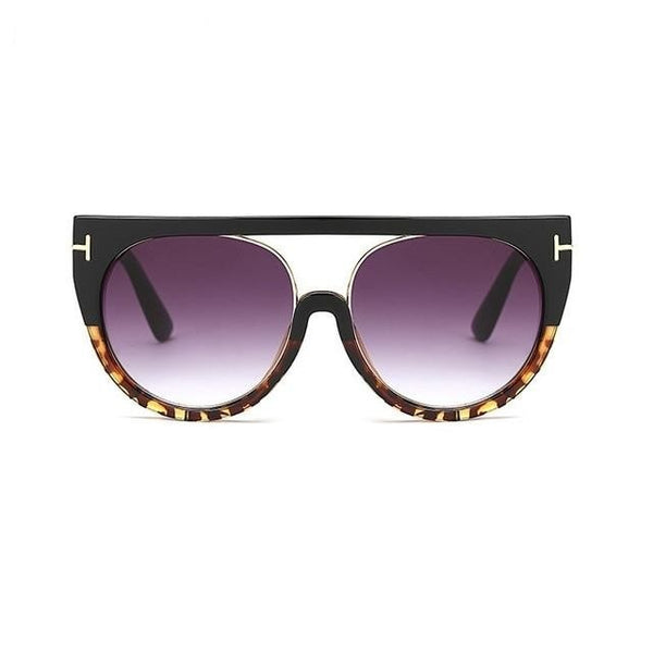 Reiner - A892 leopard grey - Women's Sunglasses - Cat Eye Sunglasses - Crissado