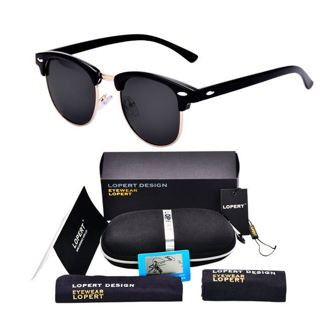BUMBLEBEE-Black Black-Men's & Women's Sunglasses-Wayfarers-Lensuit
