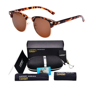 BUMBLEBEE-Leopard Brown-Men's & Women's Sunglasses-Wayfarers-Lensuit