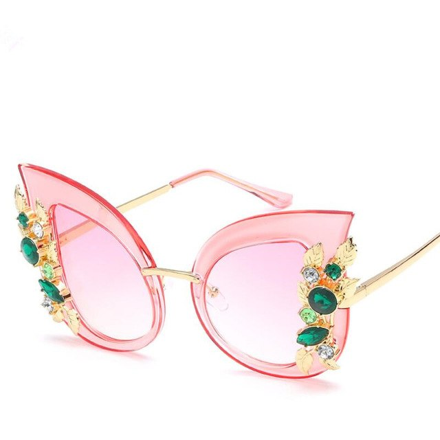 Nefarious - c6 pink - Women's Sunglasses - Cat Eye Sunglasses - Crissado