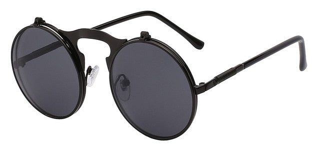 The Bullet - Full black - Men's Sunglasses - Flip Up Sunglasses - Crissado