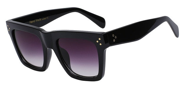 Olielle - Black w smoke lens - Men's & Women's Sunglasses - Wayfarers - Crissado